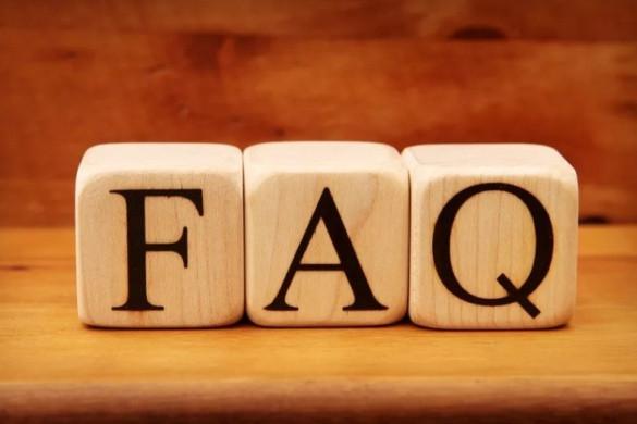 Новый раздел FAQ